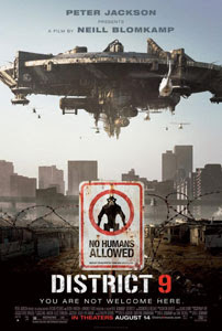 Cartel original de District 9