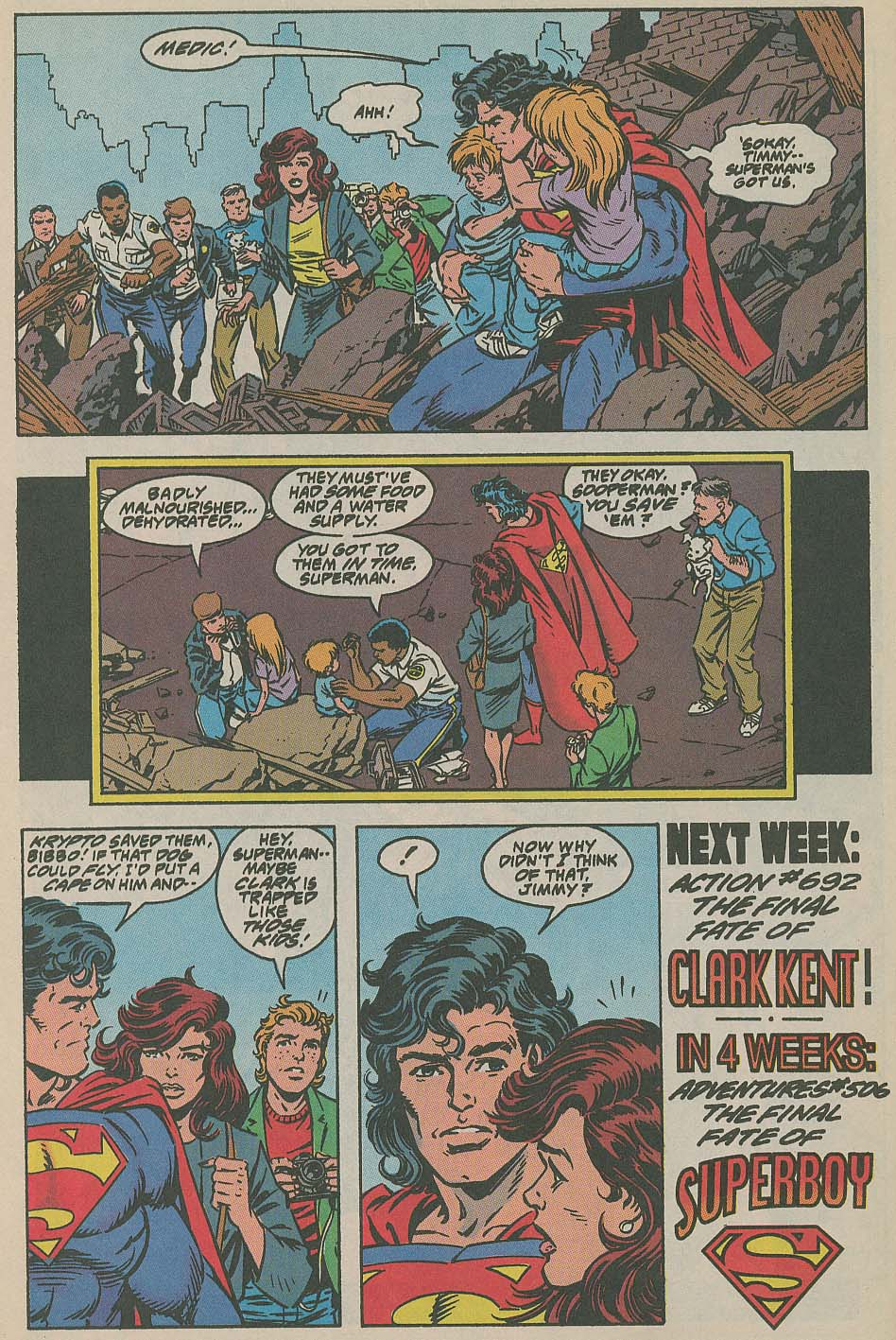Read online Adventures of Superman (1987) comic -  Issue #505 - 23