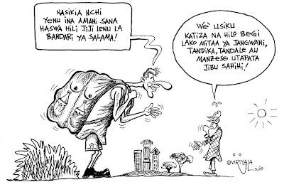 Swahili Time: May 2009