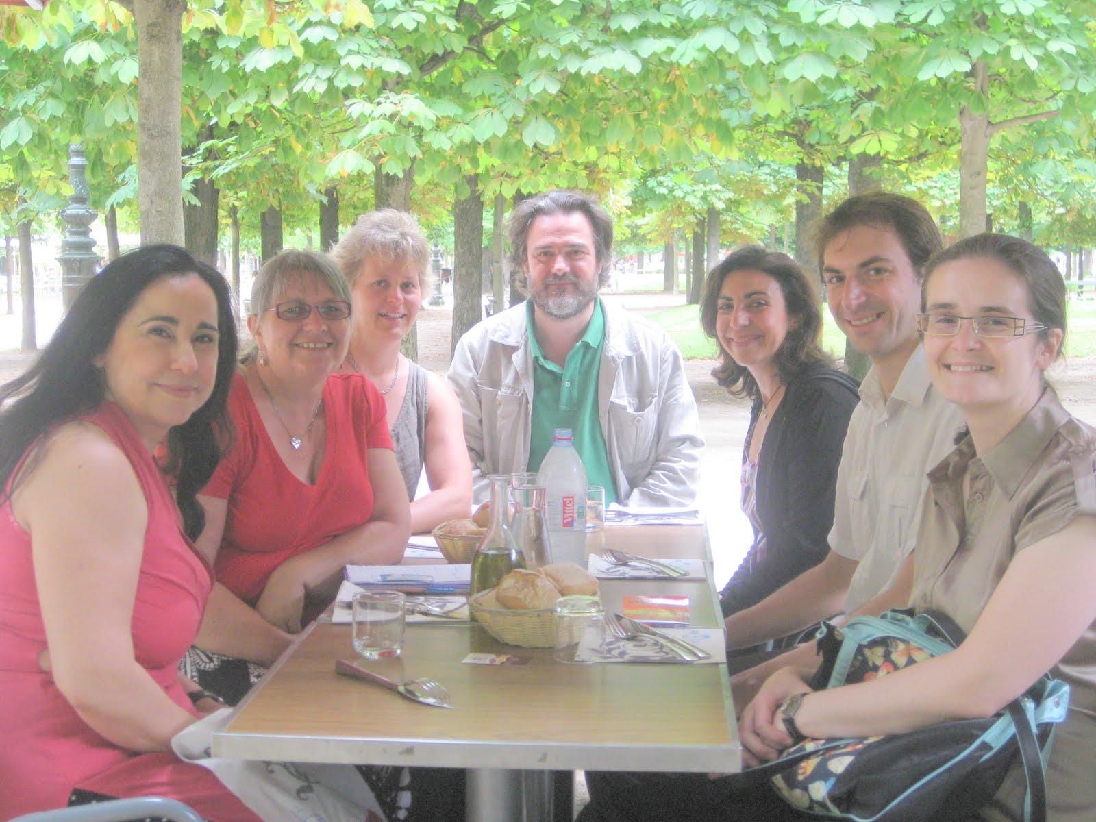 Moira Deslandes et Mary Morland rendent visite à AIP2-France