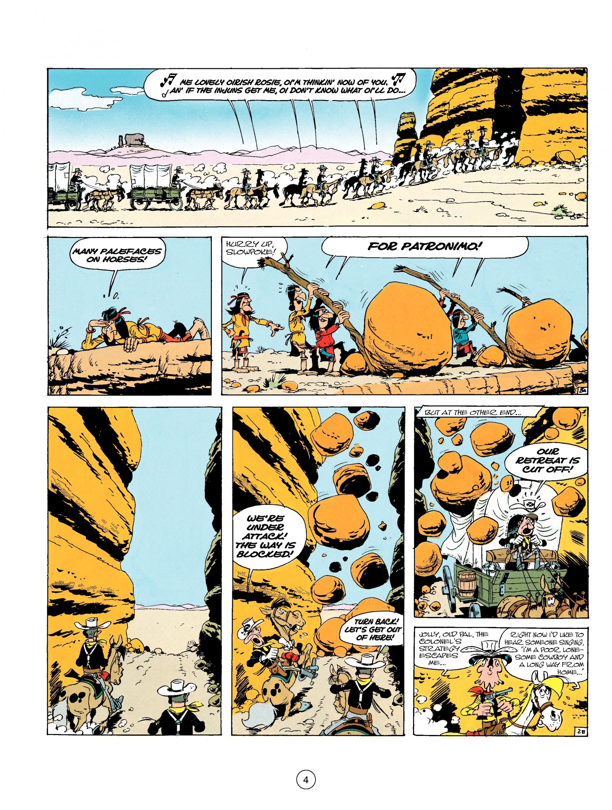 Read online A Lucky Luke Adventure comic -  Issue #17 - 4