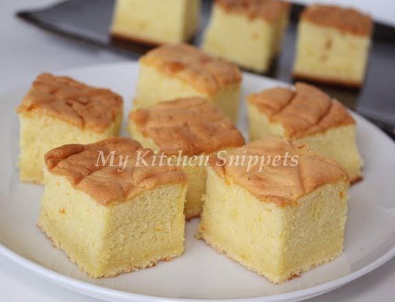 Recipe Of Japanese Sponge Cake: My Kitchen Snippets: Castella Or Kasutera (Japanese Sponge