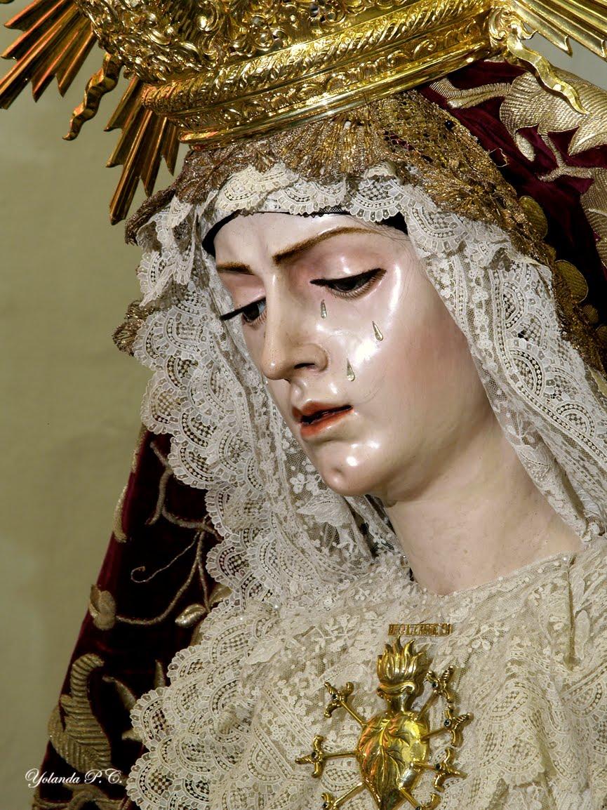 Don De Piedad La Virgen De Los Dolores De Villanueva Del