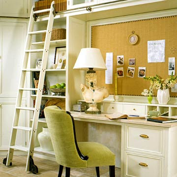 Beach Cottage Style: Dream Office and Studio
