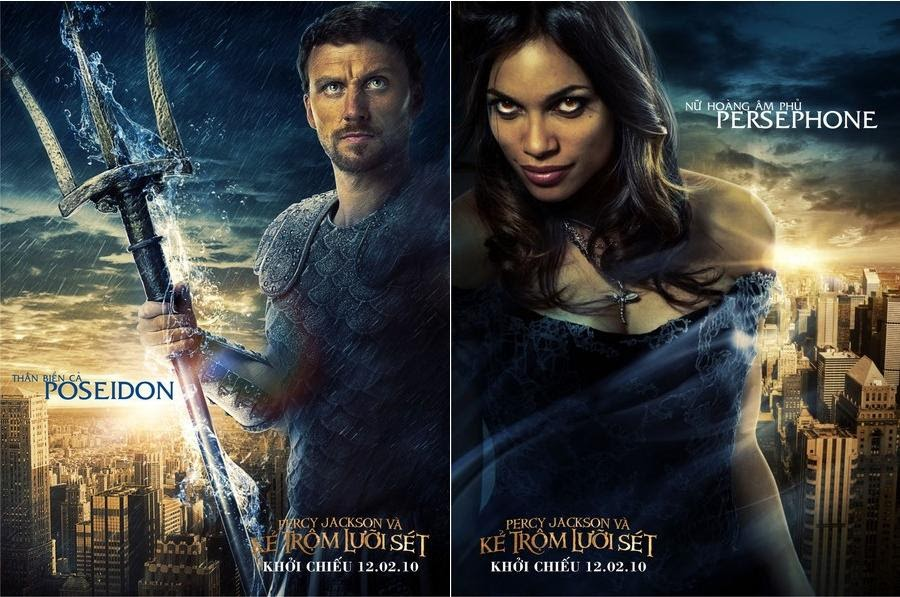 """HOLLYWOOD SPY: GODS' POSTERS FROM """"PERCY JACKSON AND THE ..."""