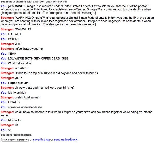 Sexy omegle chats