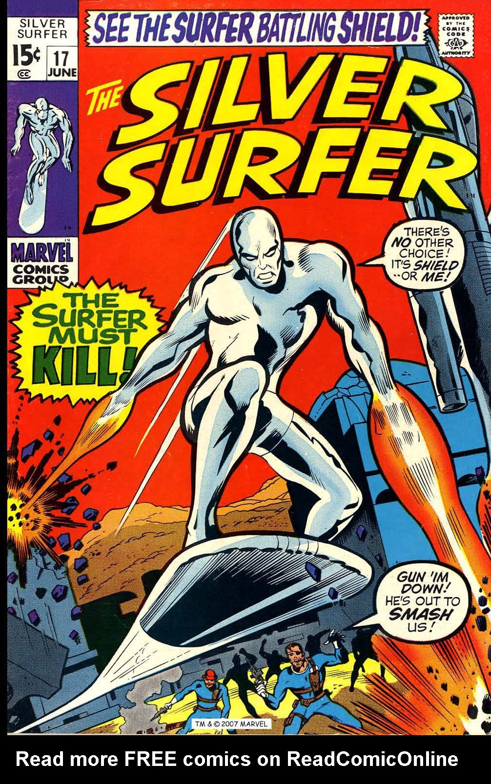 Silver Surfer (1968) issue 17 - Page 1