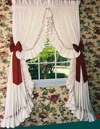 style country curtain ideas | modern bedding: Country Style Curtains