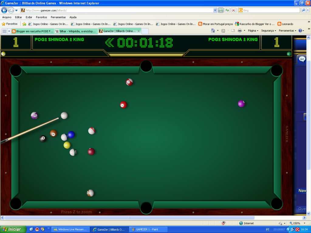 billiards gamezer gratuit