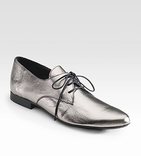 c730df62e1 One of my favorite pairs--in fact, the one I'll probably end up buying--is  Pour La Victoire's Charlie Oxford flats, which have a nicely distressed  patina ...