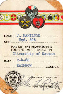 Citizenship of Nation merit badge
