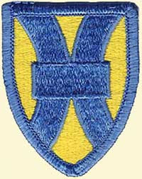 21st Support Command Patch, the overall command for the 1st Support Brigade, which was the next level up for the 66th Maintenance Battalion
