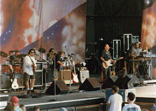 Los Lobos at the Further Festival in Alpine Valley, Wisconsin, 1996