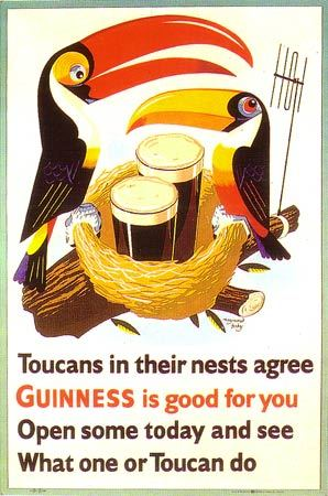 free poster review: Guinness Advertising Posters