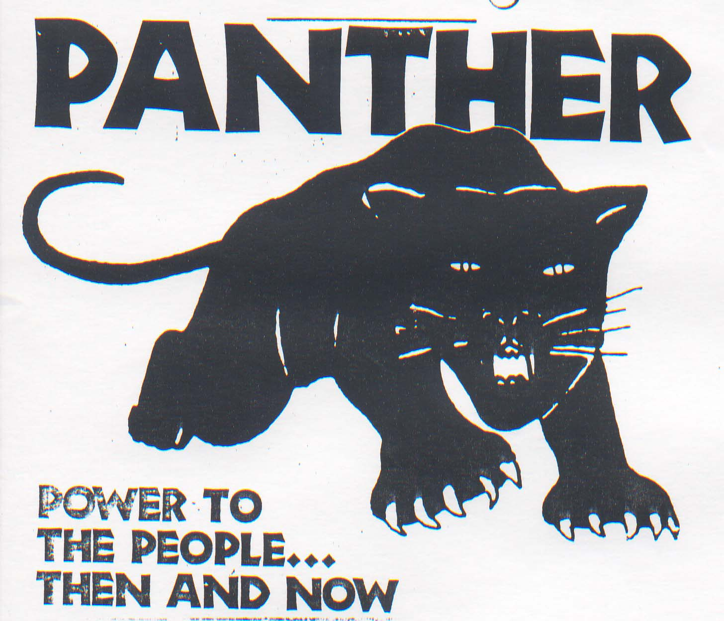 free poster review: Black Panther Propaganda