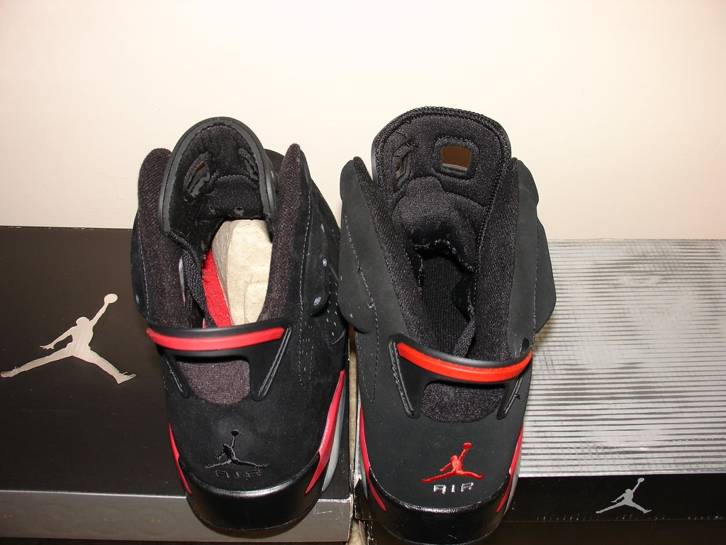 Next To Real Retro S Fake Retro S: Ric On The Go: Counterfeit Air Jordan VIs Comparison To