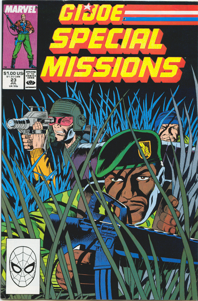 G.I. Joe Special Missions 23 Page 1