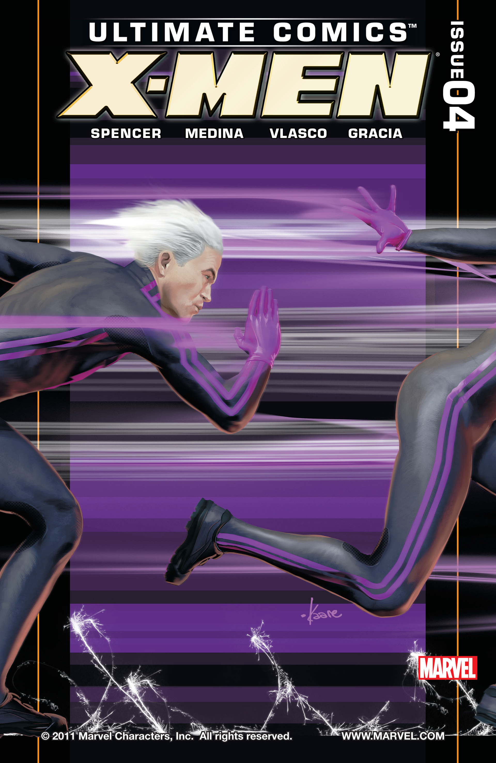 Read online Ultimate Comics X-Men comic -  Issue #4 - 1