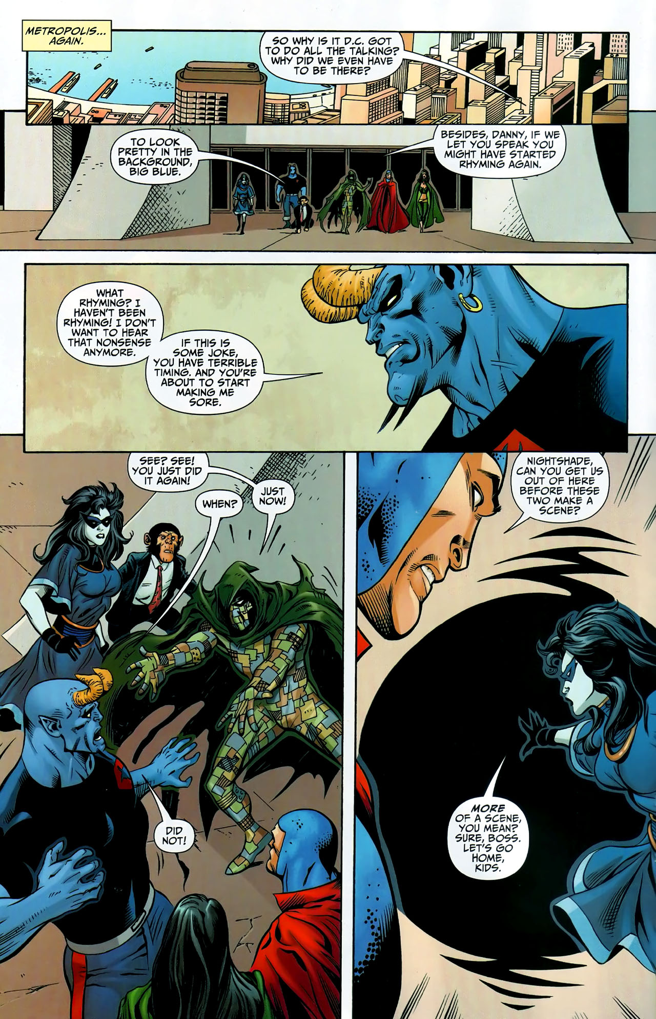 Read online Shadowpact comic -  Issue #9 - 9