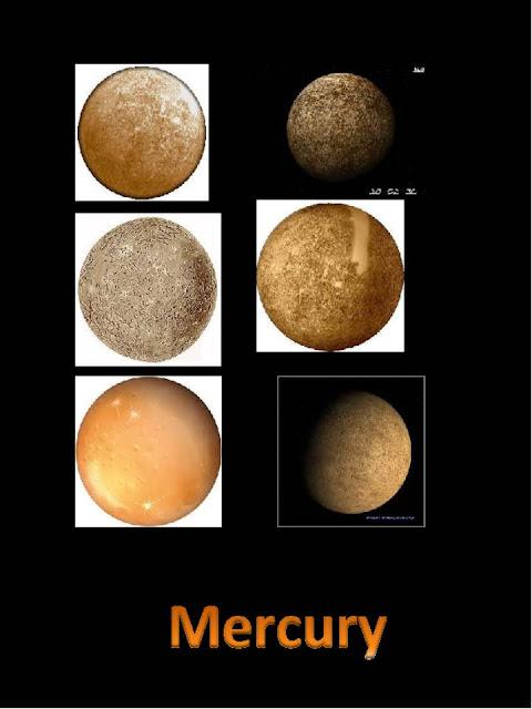 3rd Grade Space WebQuest: Pictures of Mercury