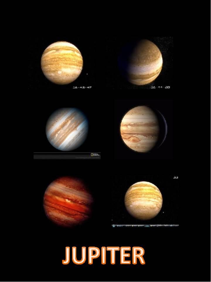 3rd Grade Space WebQuest: Pictures of Jupiter