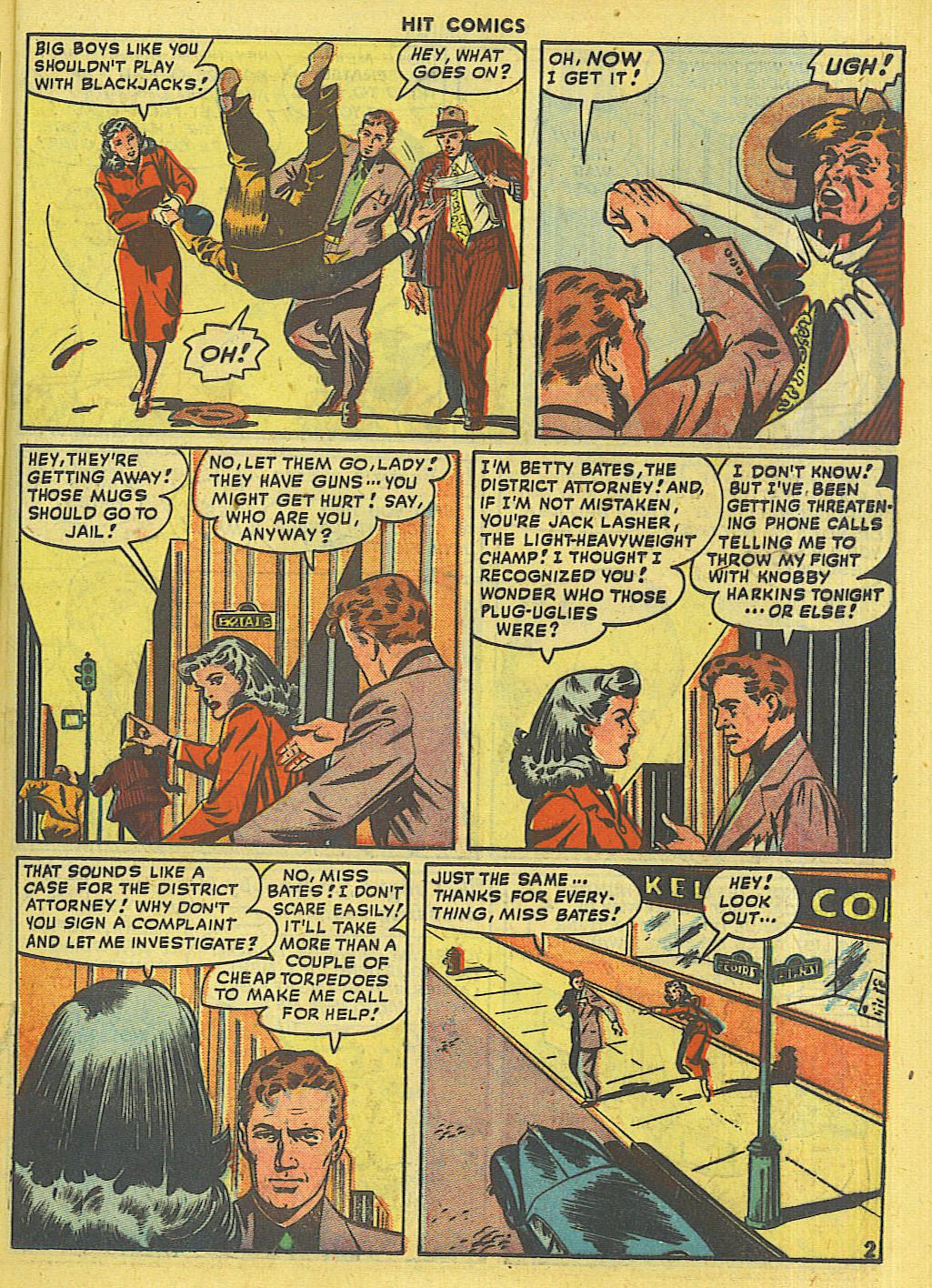 Read online Hit Comics comic -  Issue #56 - 33