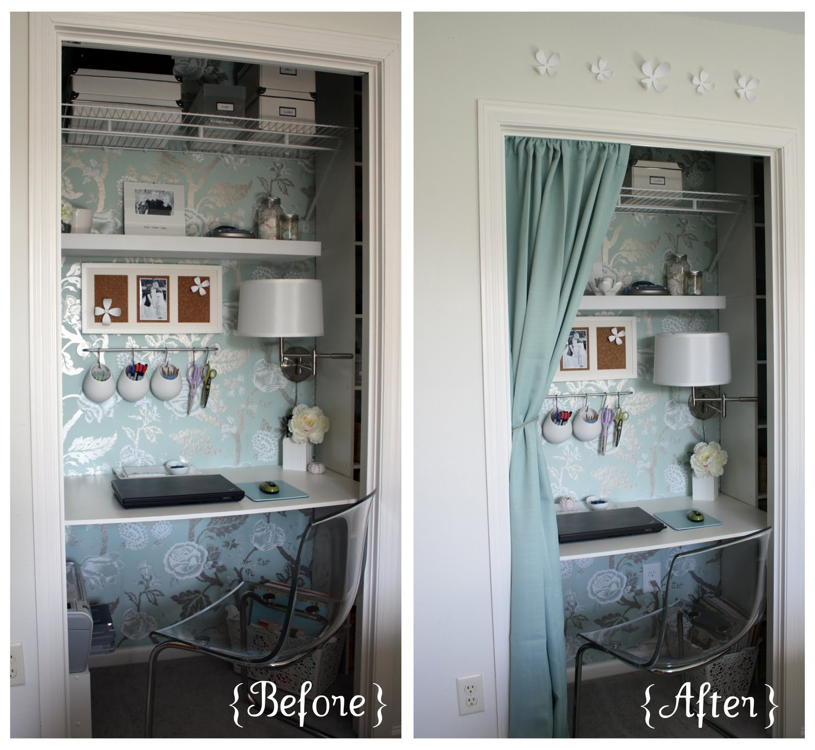 Closet Bedroom: IHeart Organizing: September Featured Space: Bedroom
