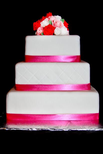 Cakes Krista Sidhu Pink Wedding Cake
