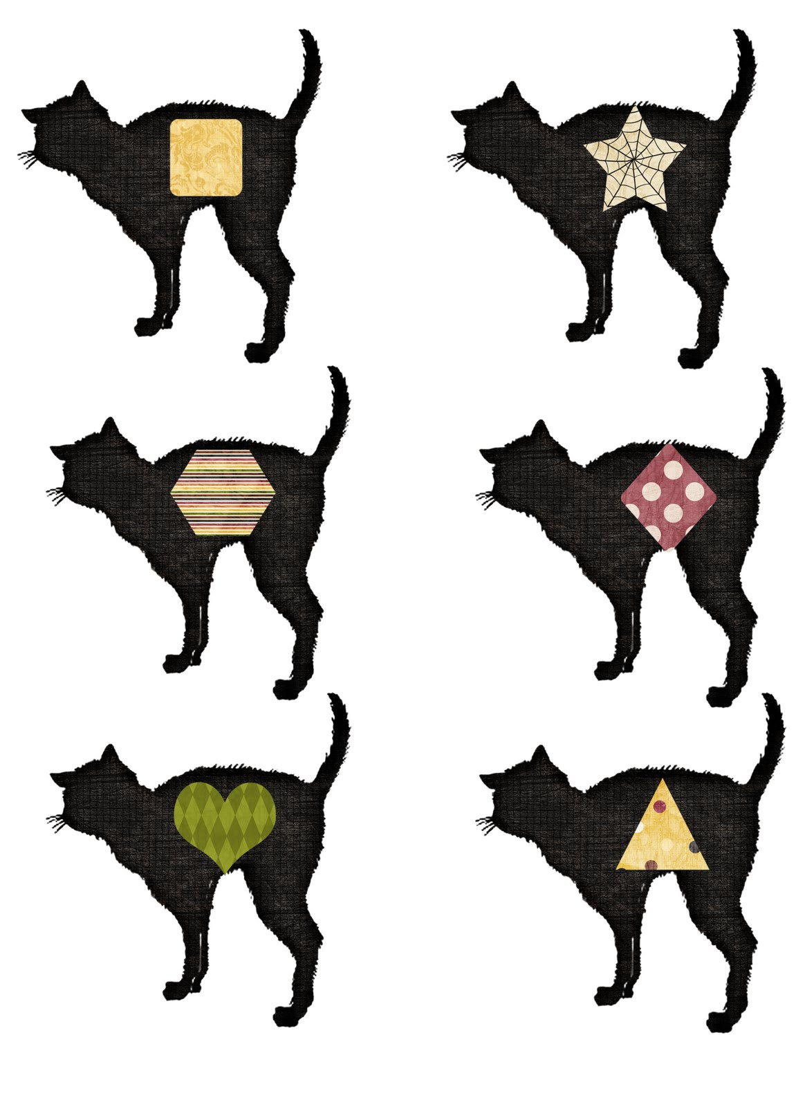 Lil Mop Top Cat Shapes