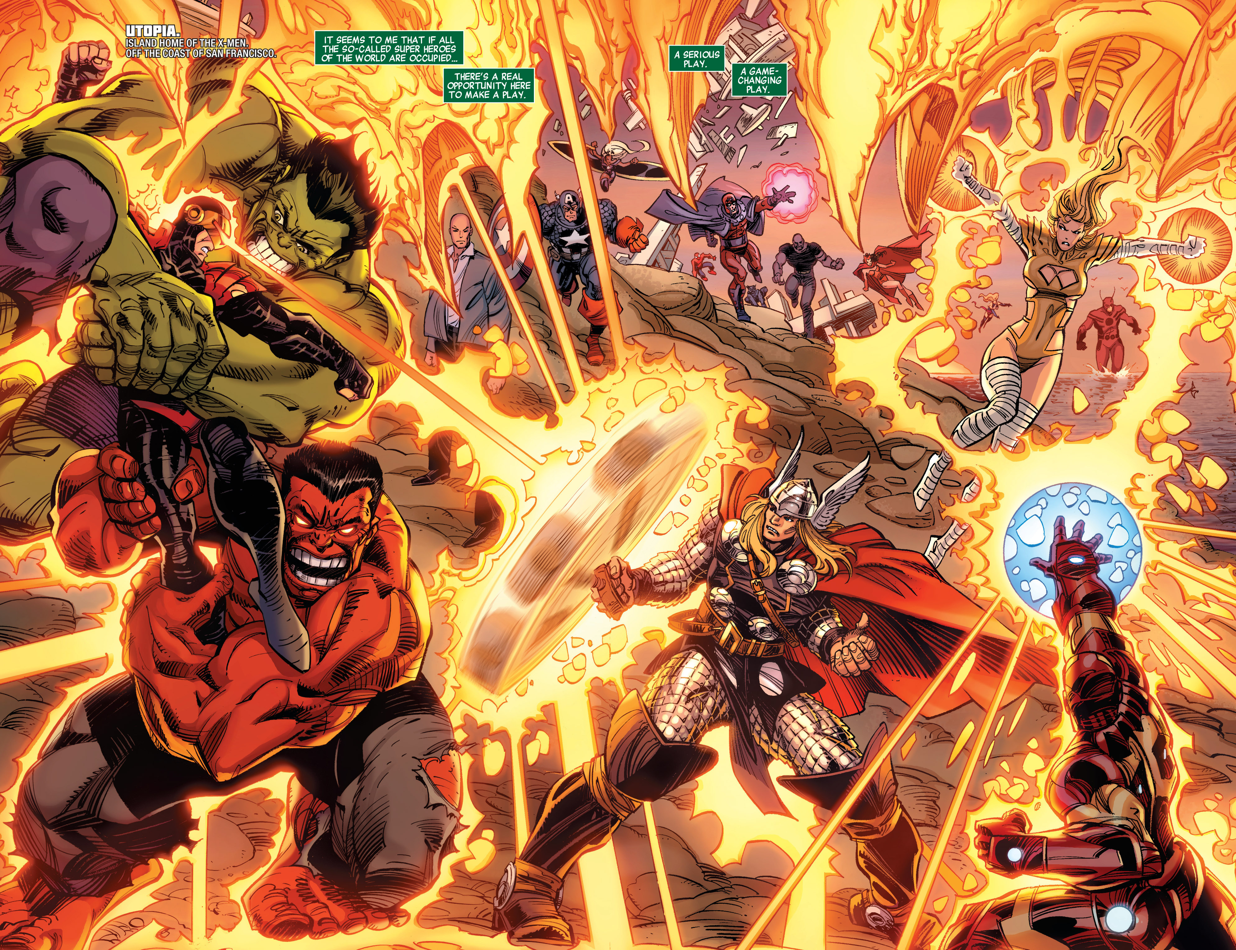Read online Avengers (2010) comic -  Issue #30 - 3