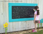 {FuN} Outdoor Chalkboard