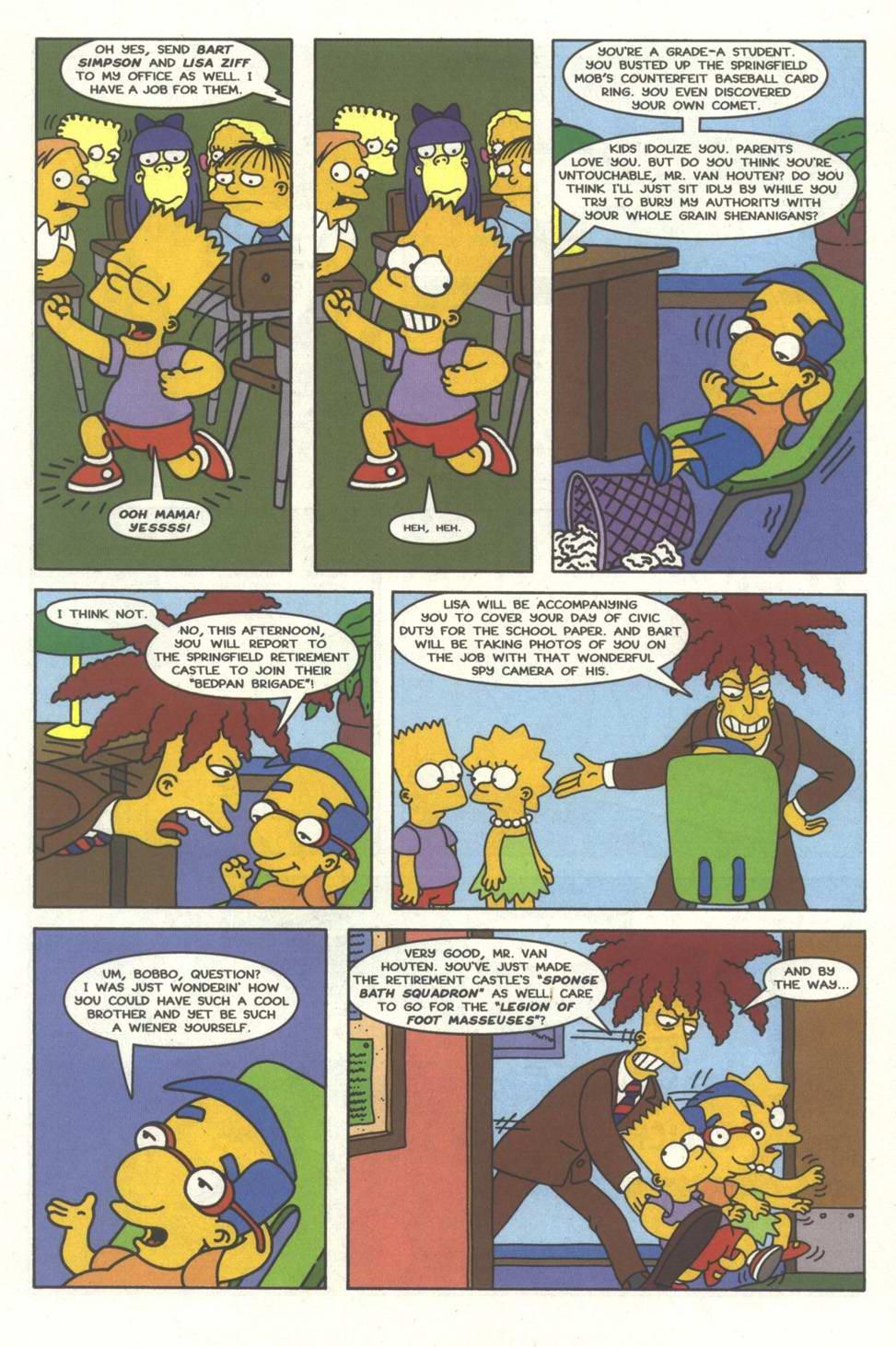 Read online Simpsons Comics comic -  Issue #33 - 6