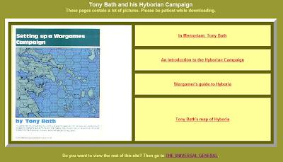 Wargaming Miscellany: Tony Bath's Hyborian Campaign