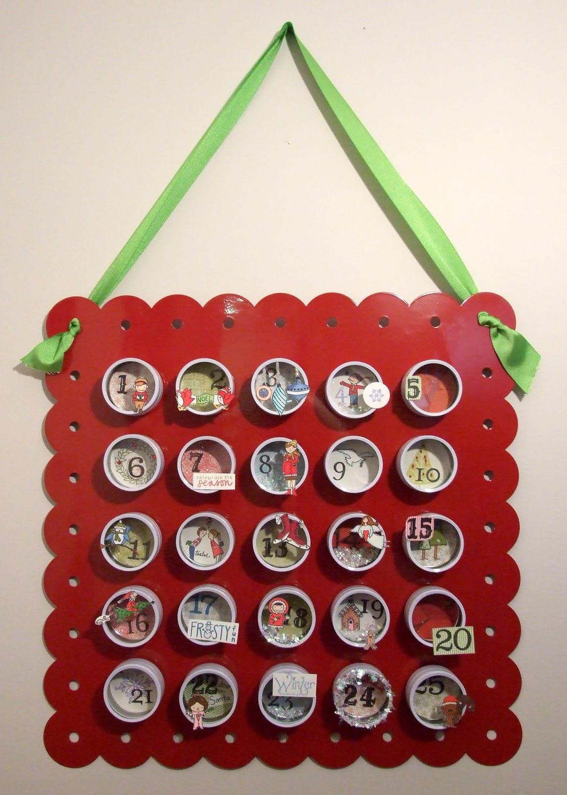 Everyday Ephemera Crafty Goodness Reusable Advent Calendar