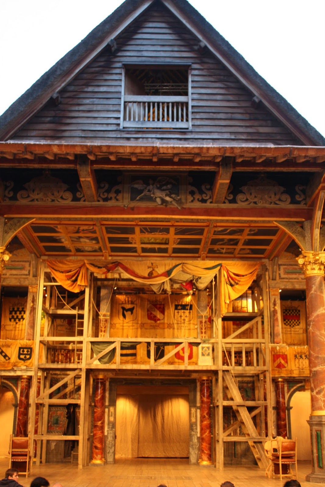 Kate S Blog The Globe Theatre The Stage Is All The World