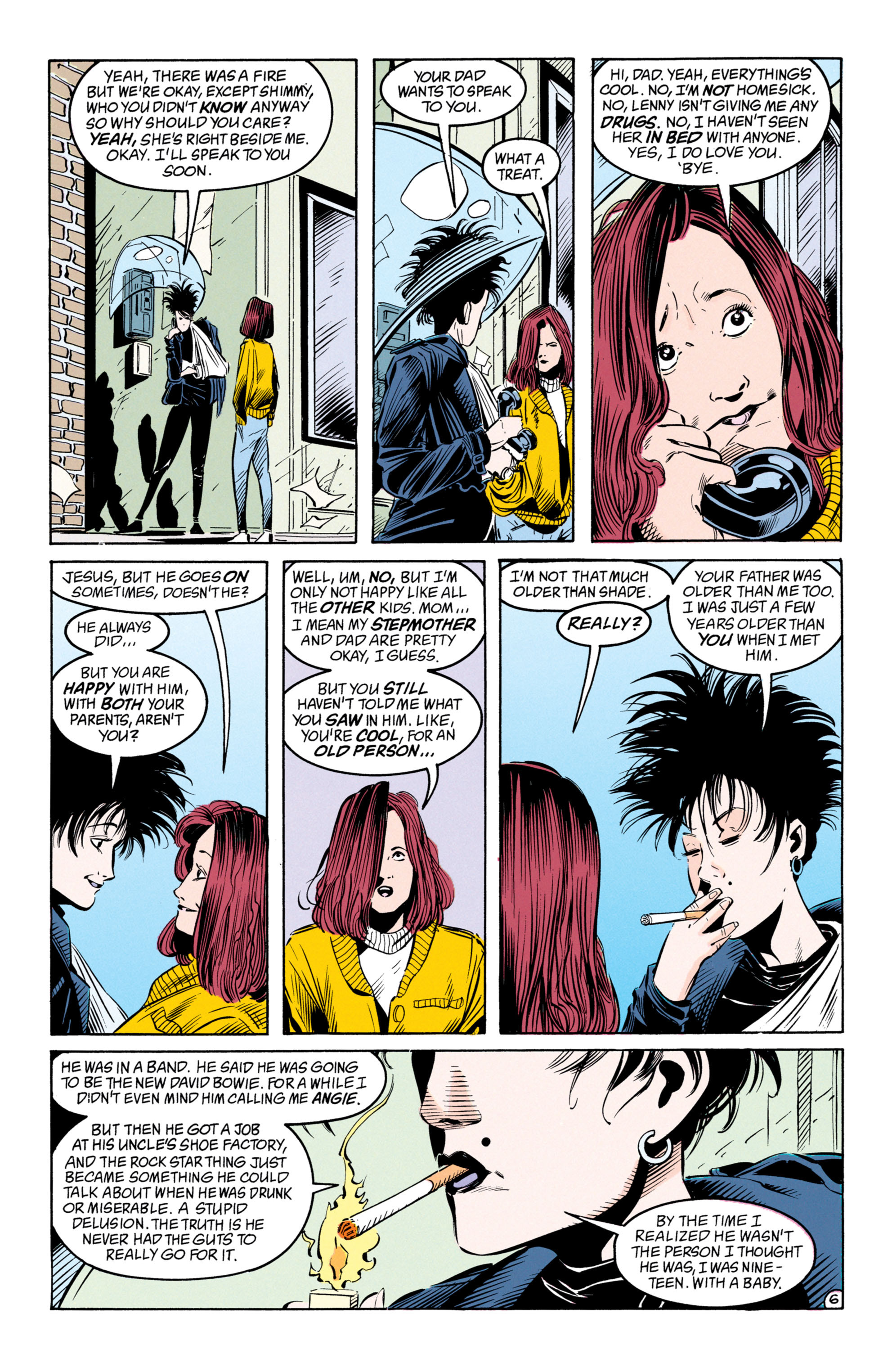 Read online Shade, the Changing Man comic -  Issue #50 - 7