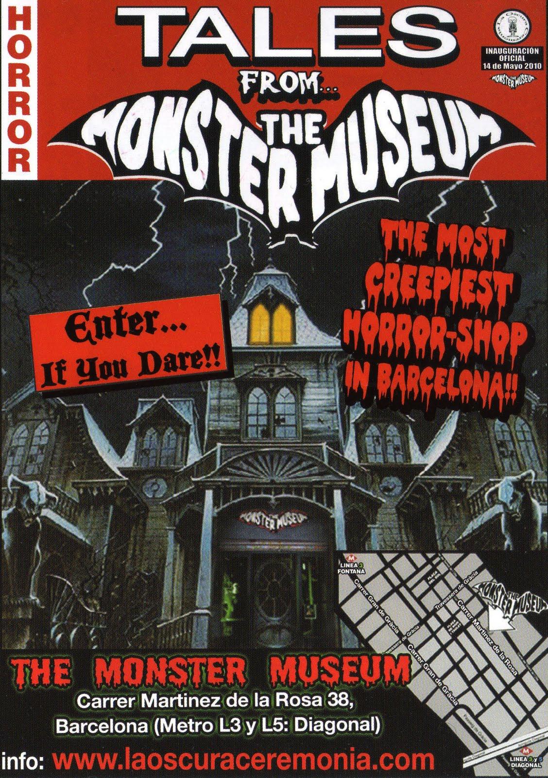 Museo del Horror y del Monstruo en Barcelona