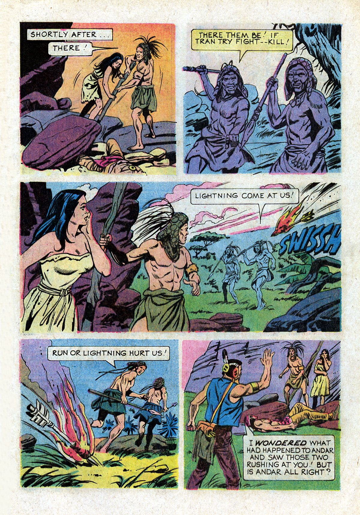 Read online Turok, Son of Stone comic -  Issue #93 - 9