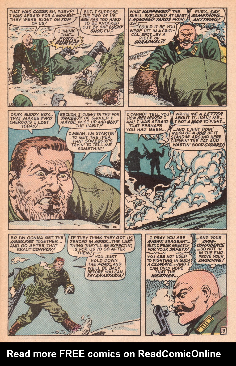 Read online Sgt. Fury comic -  Issue #73 - 19