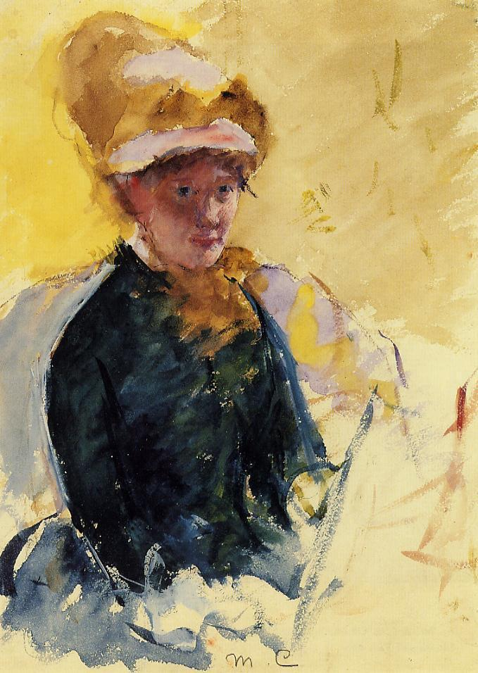 It's About Time: Mary Cassatt 1844-1926 paints self-portraits