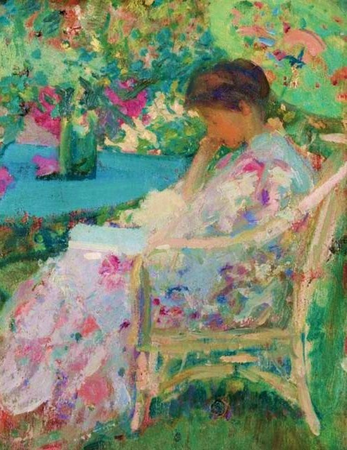 http://2.bp.blogspot.com/_CvDCiEFbNy8/TGUUbAZOZVI/AAAAAAAAWLA/wi8eSsX5gW8/s1600/Richard+Emil+Miller+(1875-1943)+Reading+in+the+Garden.jpg