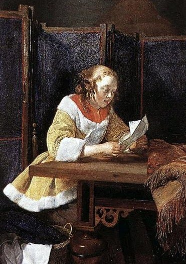 It s About Time 1600s Women reading & writing letters no email