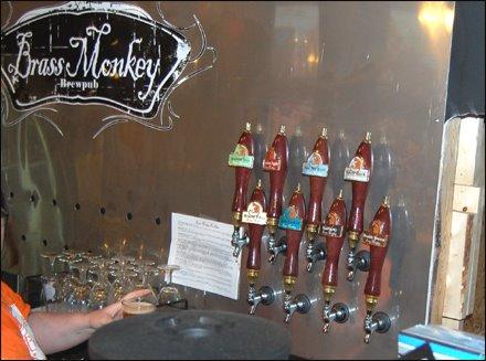 Brass Monkey Restaurant Menu