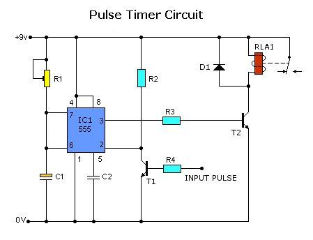 500 Circuits: Pulse Timer Circuit