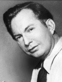 L. Ron Hubbard, scrience fiction writer and inventor of Scientology