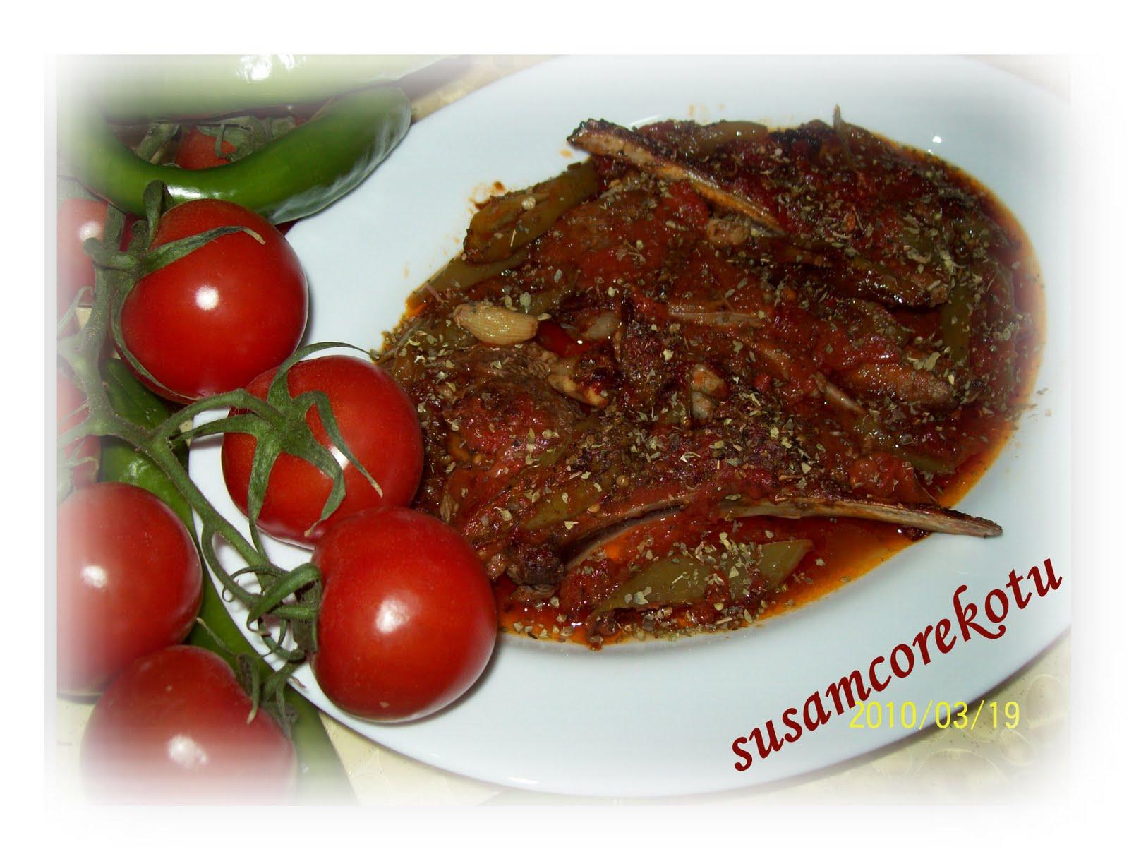 Yeşil soslu kuzu pirzola tarifi
