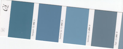 Attractive All The Walls Are Painted A Gorgeous Medium Blue Hue That Unifies Her Open E
