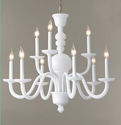 I Am Crazy About The New Martha For Murray Feiss Lighting Collection Especially These Chandeliers In Milk Gl And Jadeite A Kitchen They