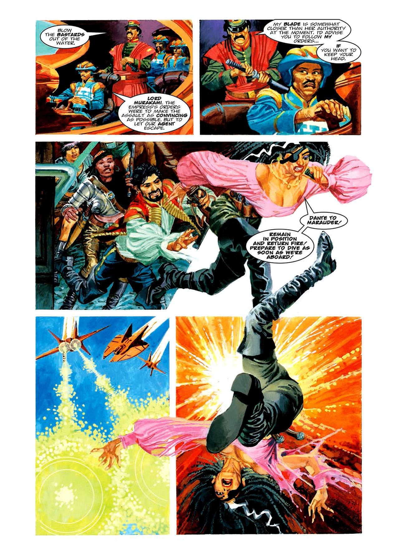 Read online Nikolai Dante comic -  Issue # TPB 6 - 126