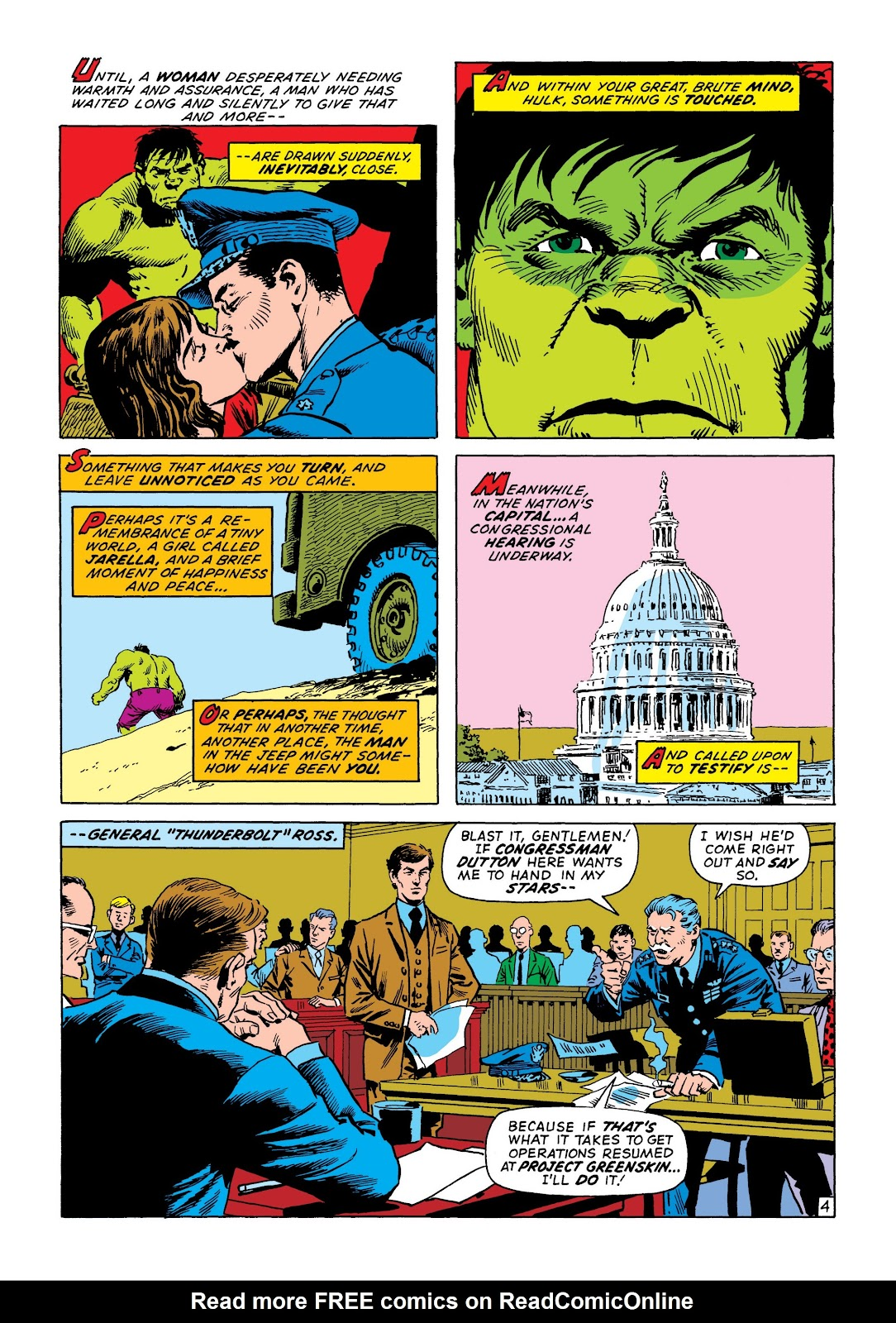 Read online Marvel Masterworks: The Incredible Hulk comic -  Issue # TPB 8 (Part 2) - 56